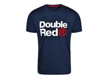 double red trademark t shirt dark blue