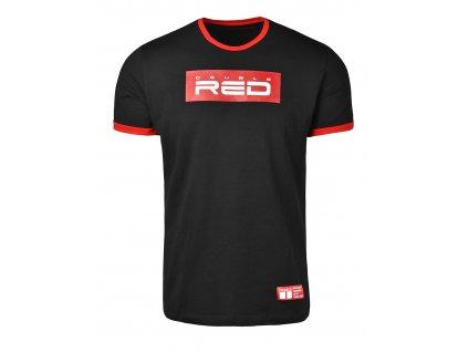 t shirt logo vision blackred