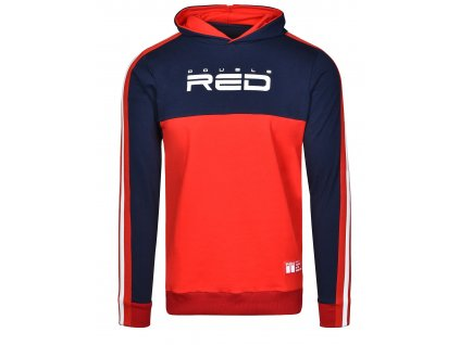 sweatshirt outstanding dark bluered