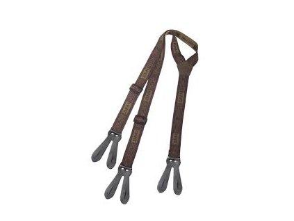 Šle s poutky Leather Joint - wide, 5cm, Hart