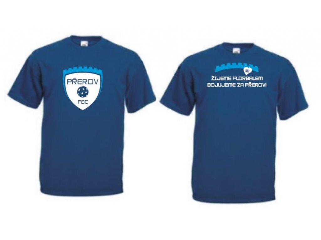 Tričko tmavě modré FBC