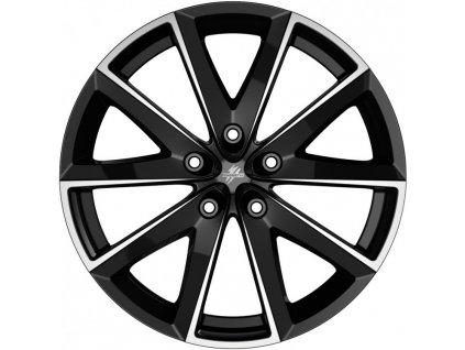 Fondmetal 7600 Glossy Black Machined