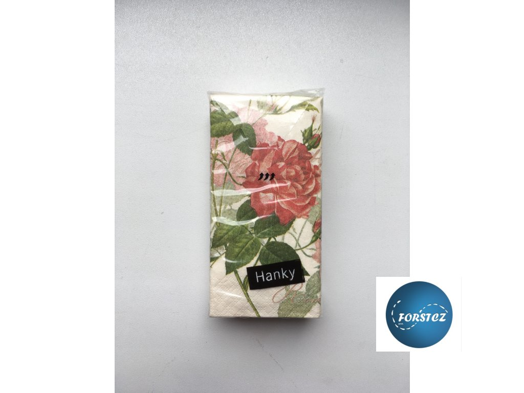 Svatební papírové kapesníčky 10 ks.  - CLASSIC ROSE
