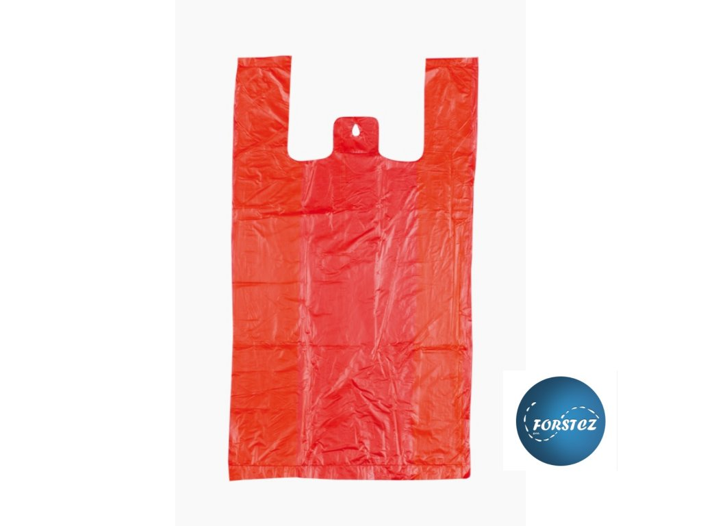 Taška HDPE 10 kg červená