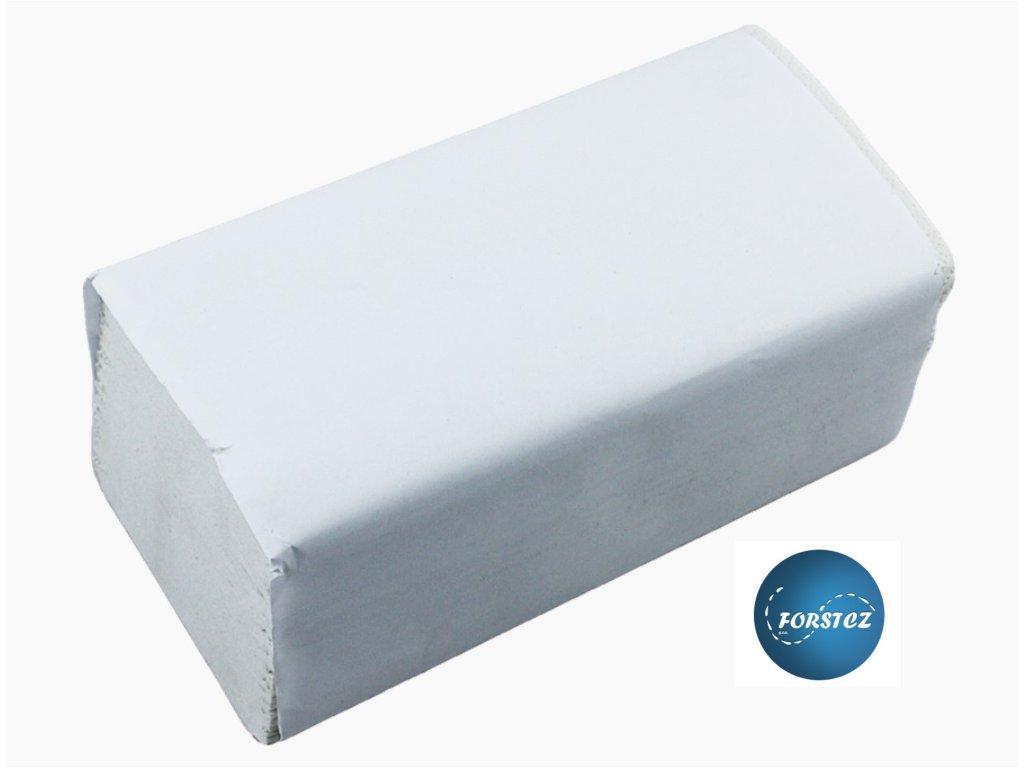 Pap. ručníky Z Z bílé 150ks.