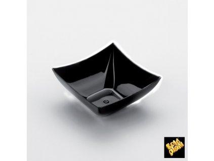 COPPETTA quadrata black