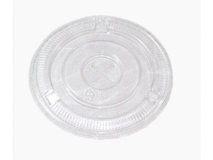 Plastové víčko PET na kraft misky