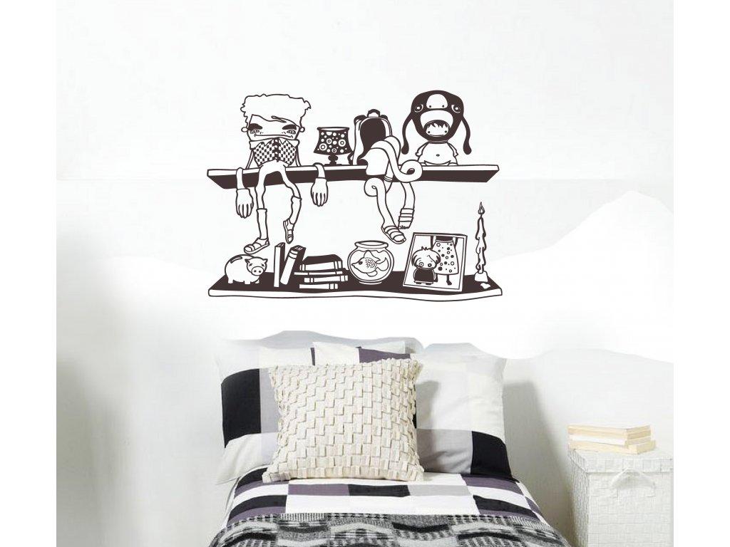 dekorace na stenu moje policka na zdi v pokoji nad posteli