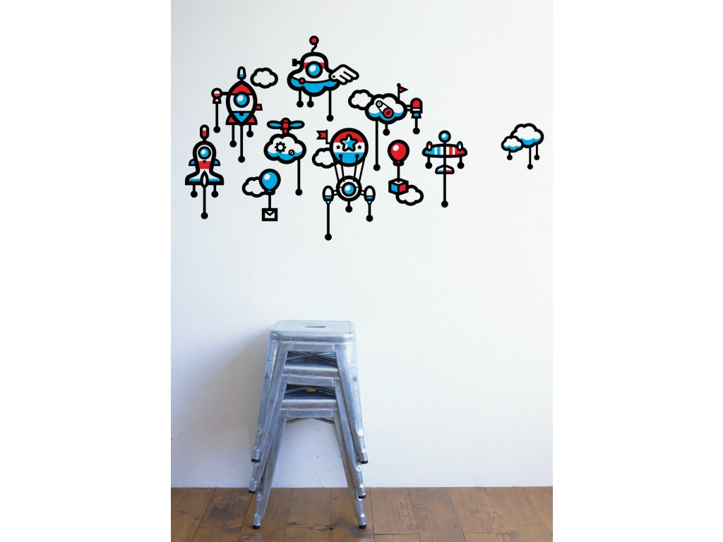 stylove samolepky na zdi kyhigh