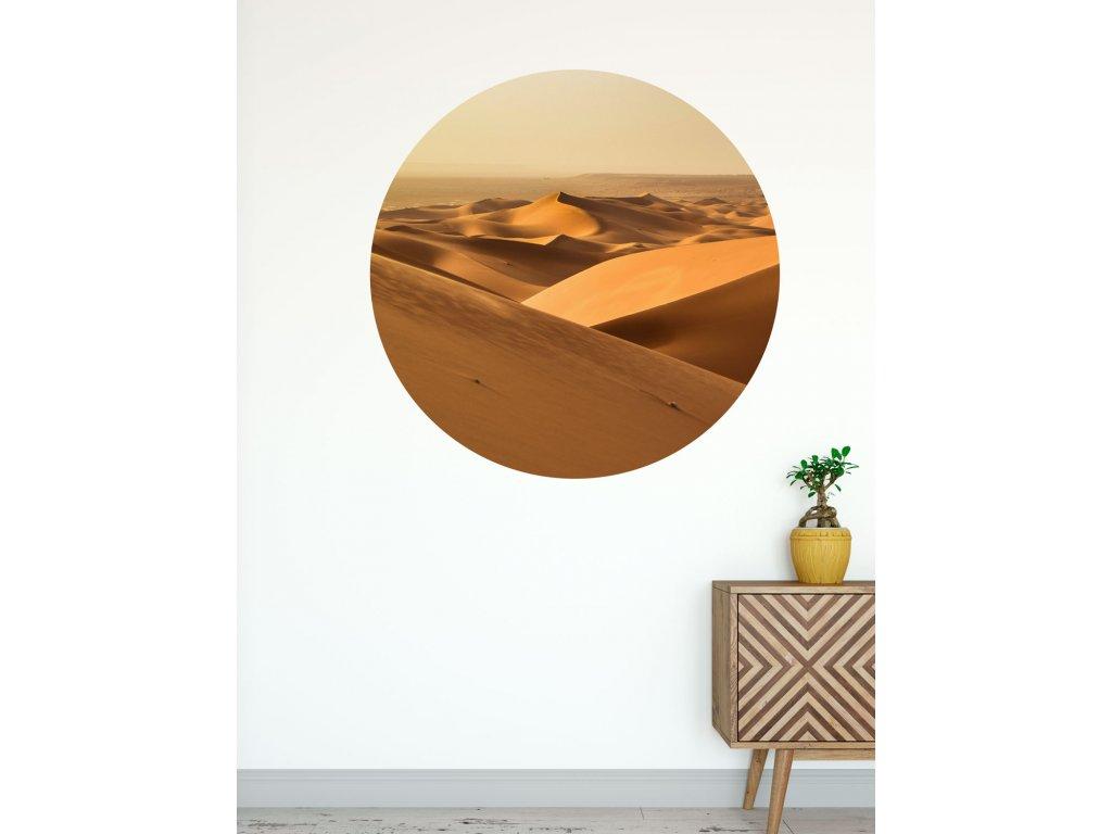 samolepici kruh poust samolepka na stenu phototex od fugu