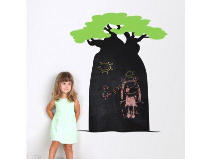 samolepici tabule na zed pro deti baobab