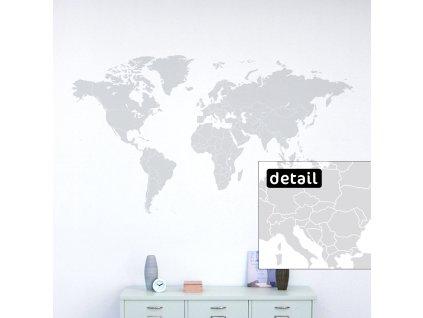 01 samolepici mapa sveta s hranicemi statu na zdi v obyvaku