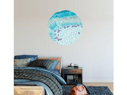 Přemístitelná samolepka Blue glow
