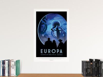 interierovy samolepici plakat europa mesic
