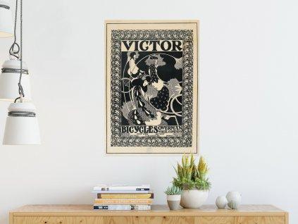 Přemístitelný plakát Victor Bicycles