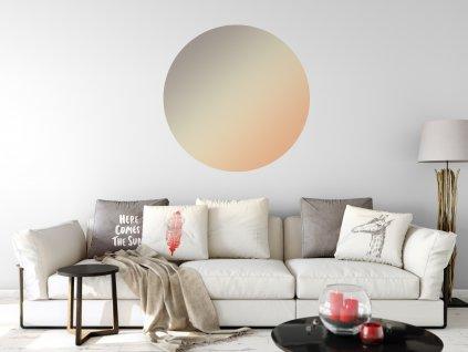 minimalisticka samolepka na zed kruh ambient 01
