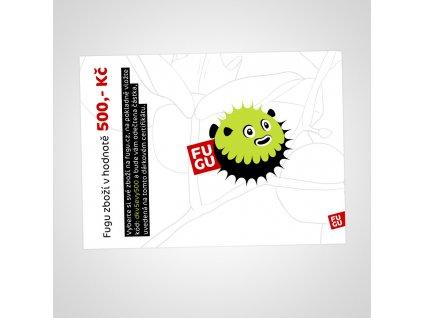 fugu darkovy poukaz certifikat