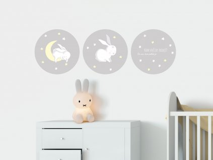 samolepici dekorace na zed kralicci a hvezdicky prelepovaci eko samolepka