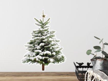 vanocni samolepky stromek little tree prelepovaci od fugu