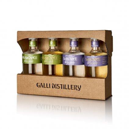GALLI DISTILLERY DEGUSTACNI SADA H+S 4x50ml