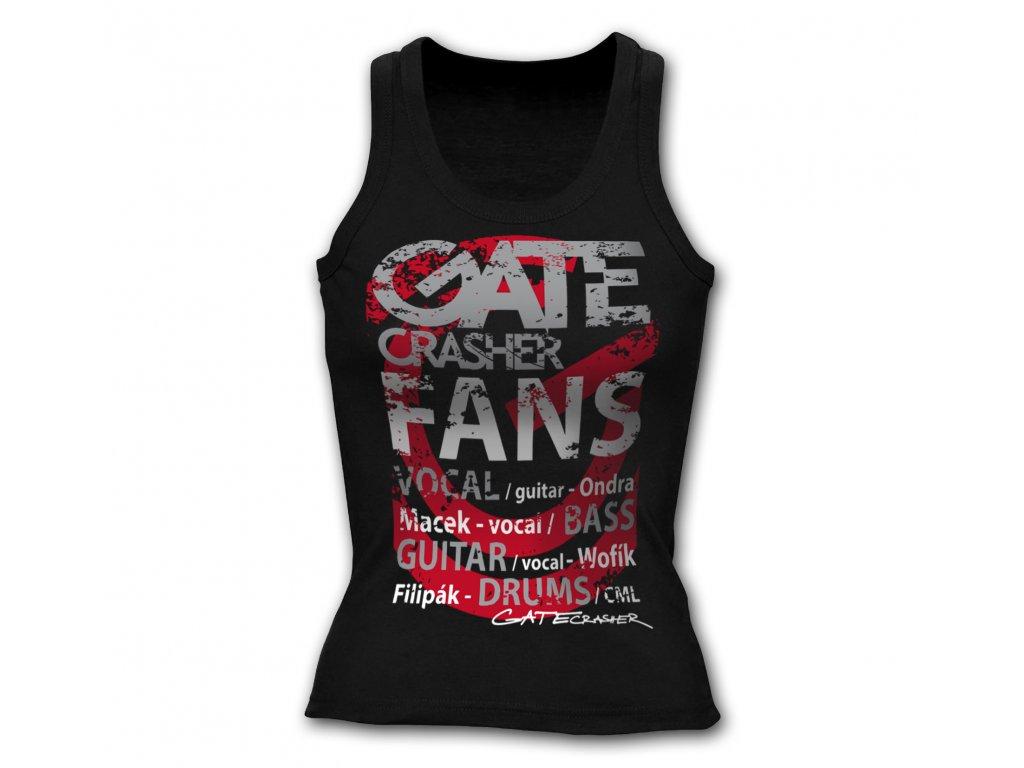 dámské tílko GATE Crasher FANS