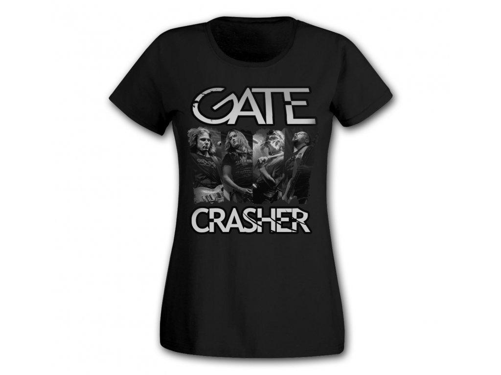 dámské triko fotka GATE Crasher černé