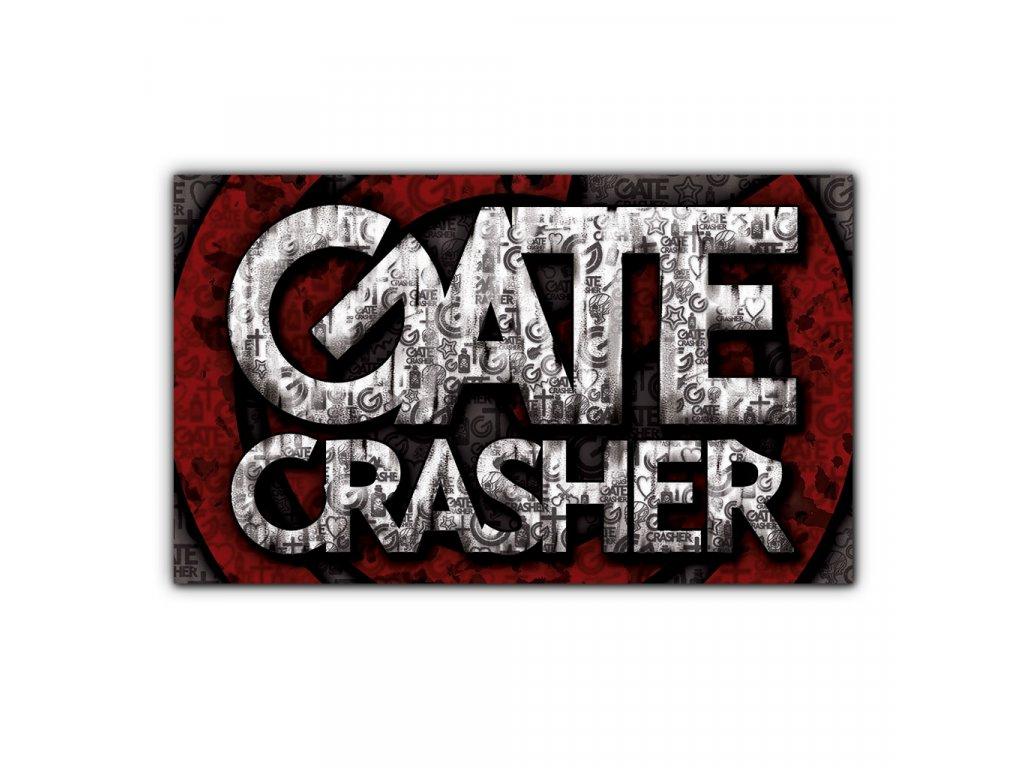 samolepka GATE Crasher