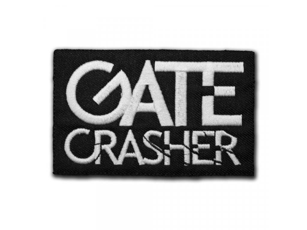 nášivka nápis GATE CRASHER