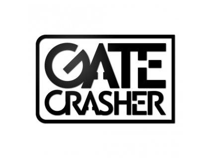 samolepka GATE Crasher na auto černá