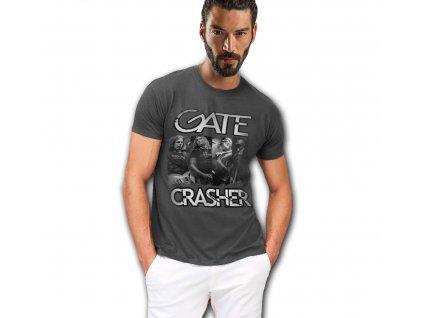 pánské triko fotka GATE Crasher šedé