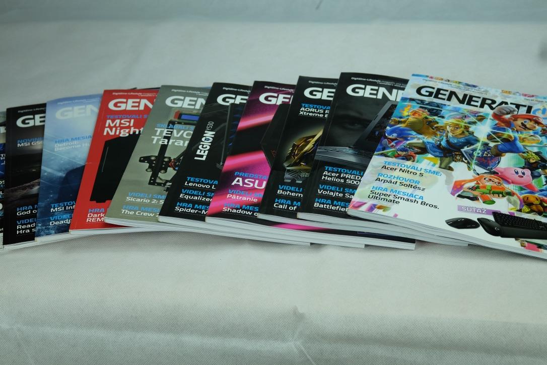 Magazín Generation od nového roku za novú cenu!
