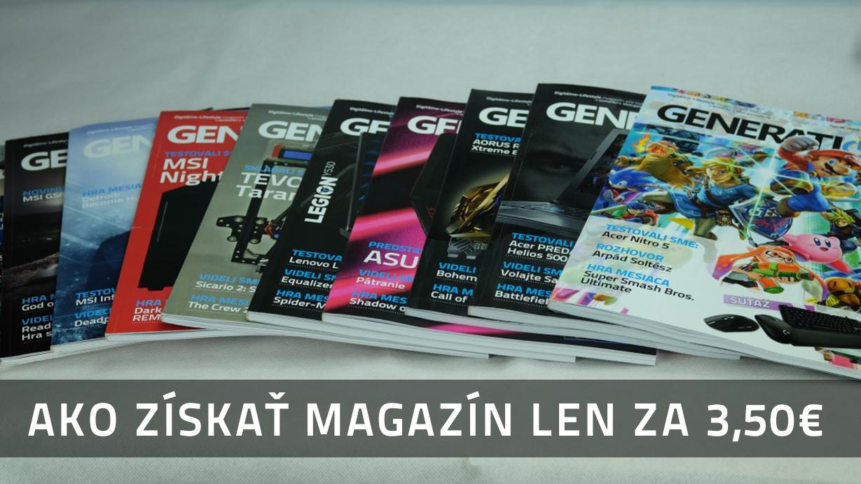 Ako získať magazín len za 3,50eur