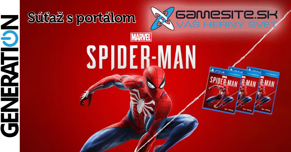 Súťaž o 3x PS4 Marvel`s Spider-Man