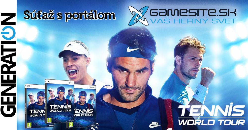 Súťaž o 3x PC Tennis World