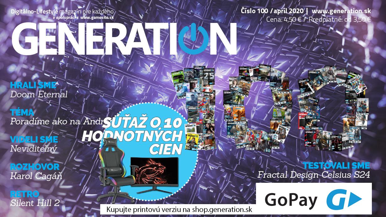 Generation 100 - oslavujeme výročie vo veľkom