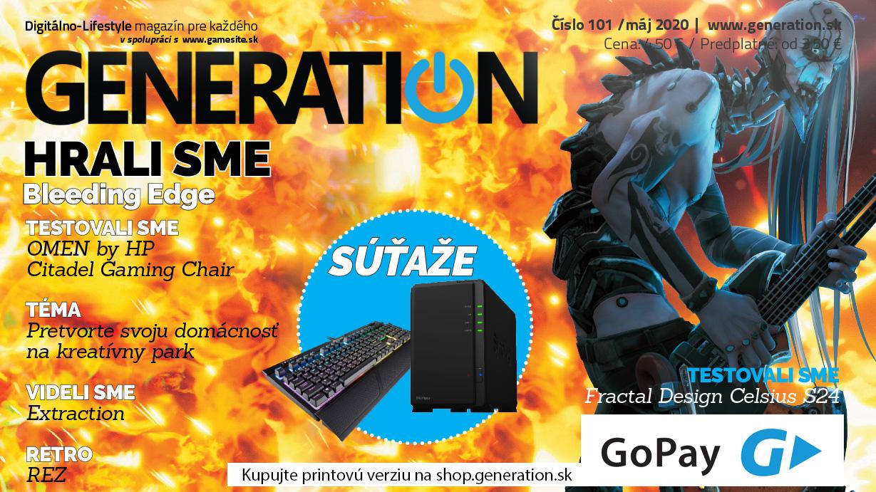Generation 101 - tou správnou nohou do ďalšej stovky