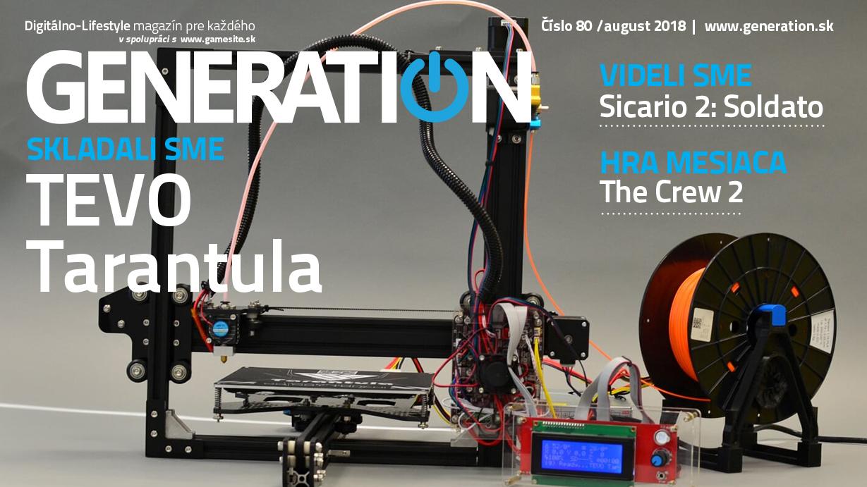 Augustové číslo magazínu Generation