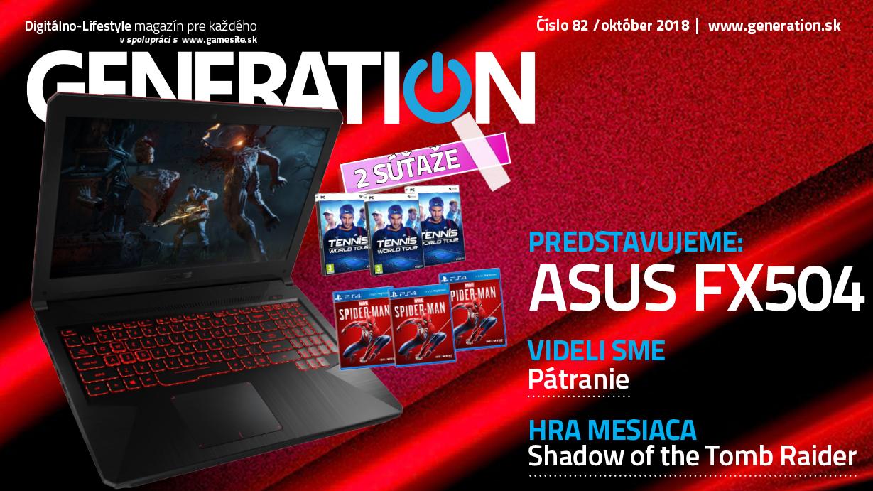 Októbrové číslo magazínu Generation