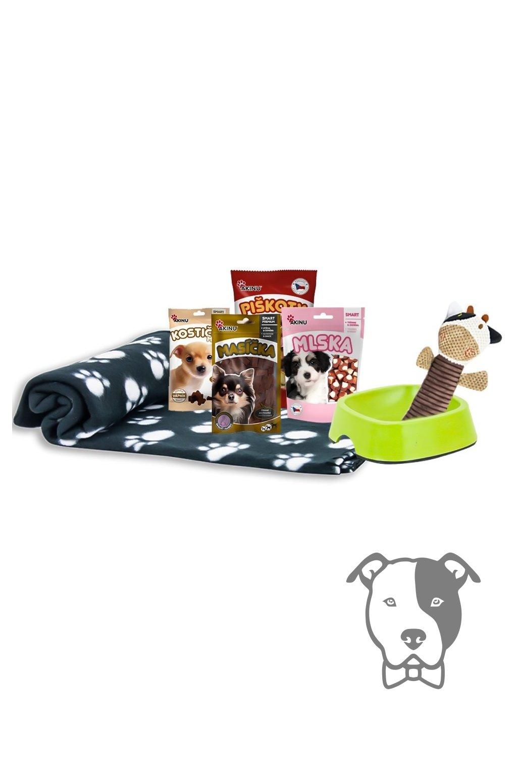 Startovací balíček pro štěně - Akinu Multík