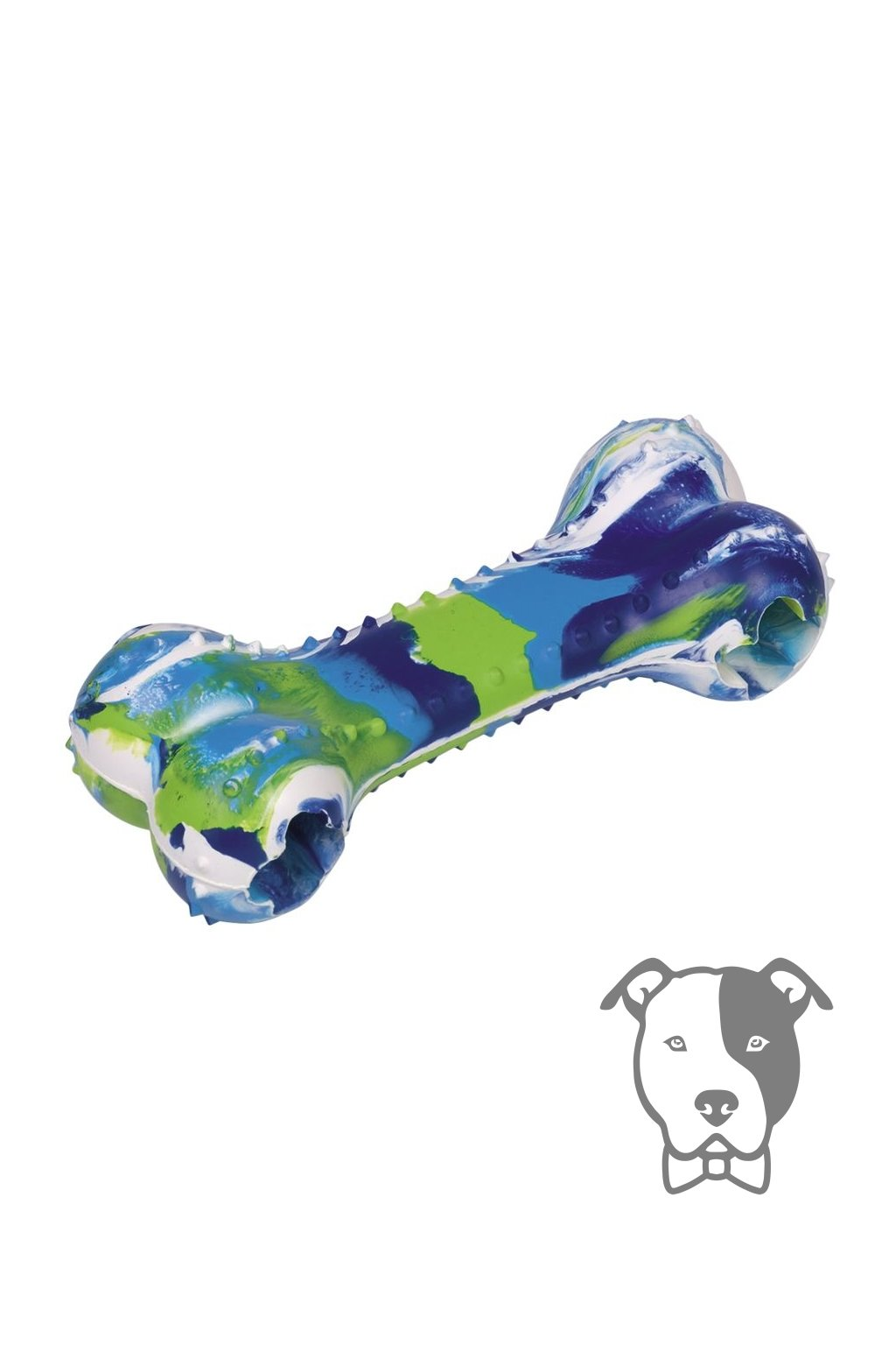 Silná gumová kost na pamlsky 18cm - Nobby