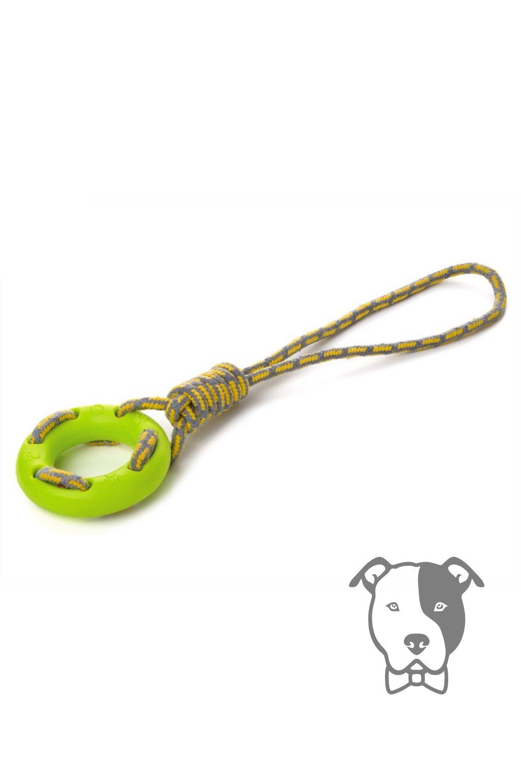 45997 1 jk animals bavlnene pretahovadlo tpr kruh 40 cm zelene 1