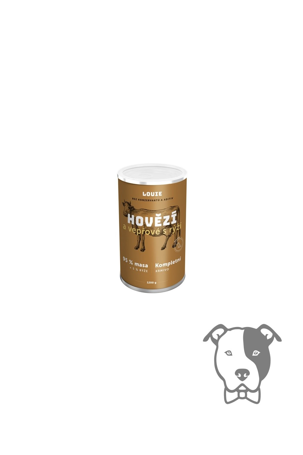 180930 louie dog konzerva hovezi a veprove s ryzi