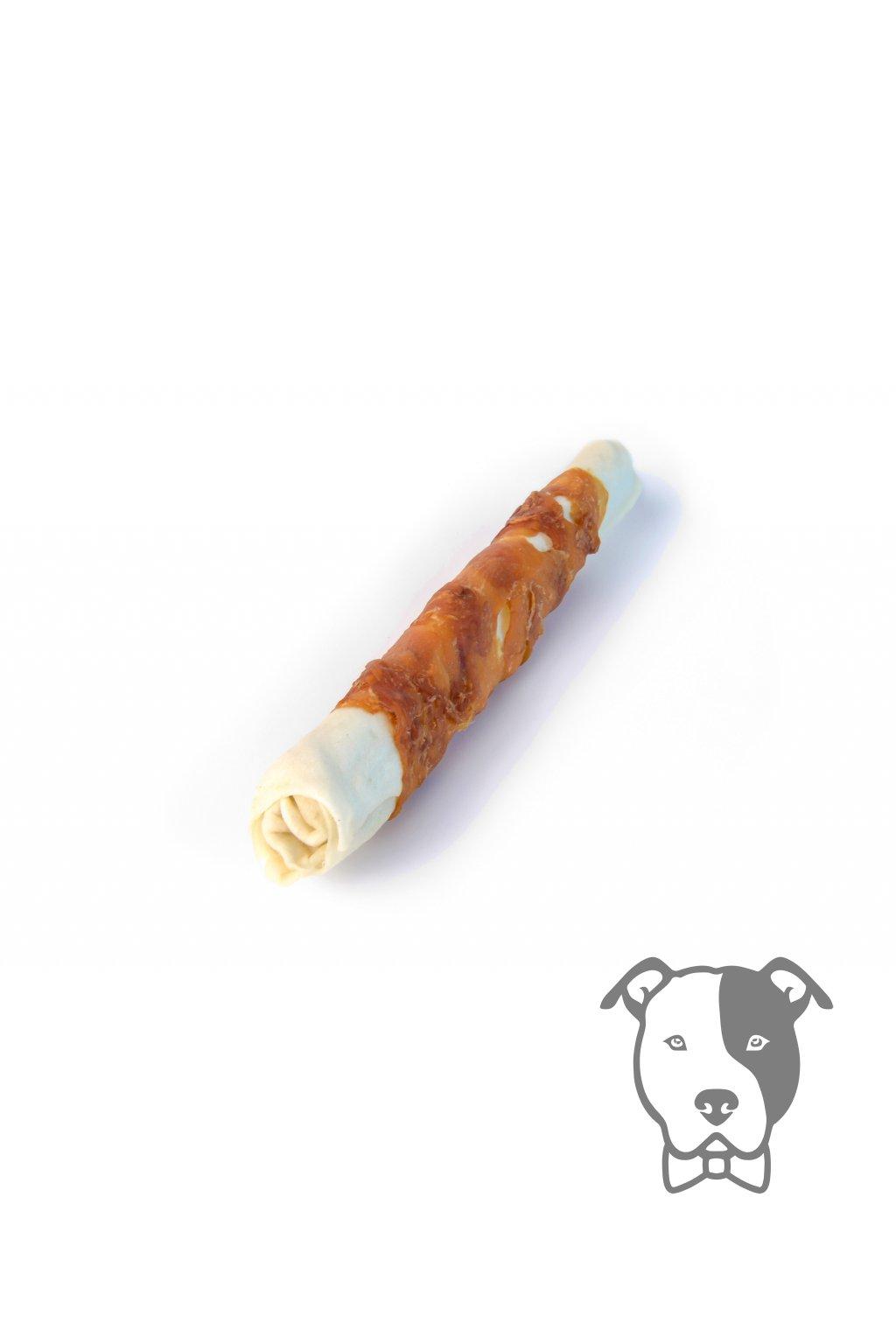 8019 2 magnum chicken roll on rawhide stick 10 105g 5 1 zdarma