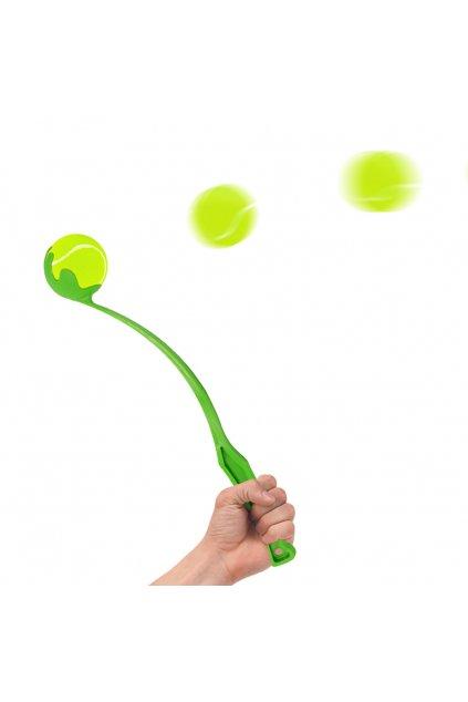 03 dog ball laucher arm green ml