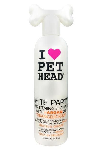pet head sampon dog white party 354ml