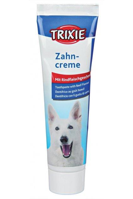 zubni pasta pro psy trixie s hovezi prichuti 100g original