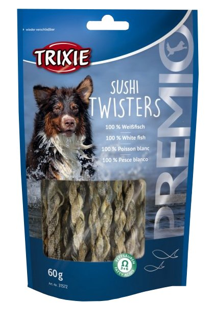 trixie premio sushi twisters light 60g