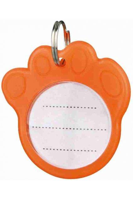 Adresář  oranžový 3,5 cm - Trixie