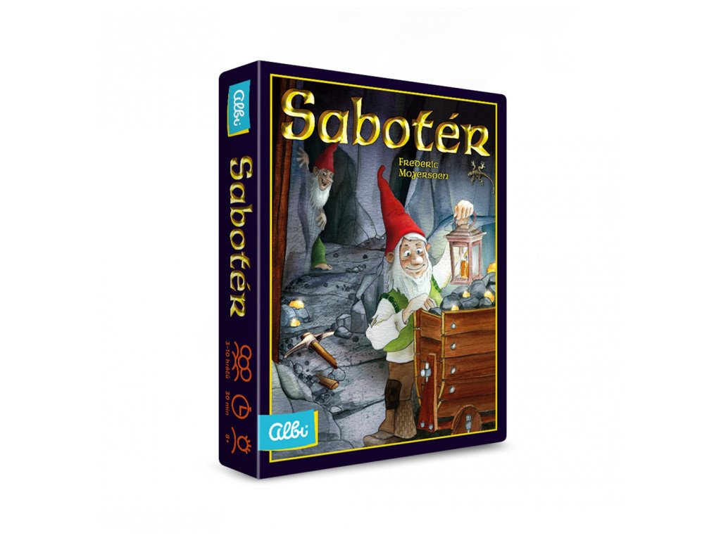 Saboter stolní hra