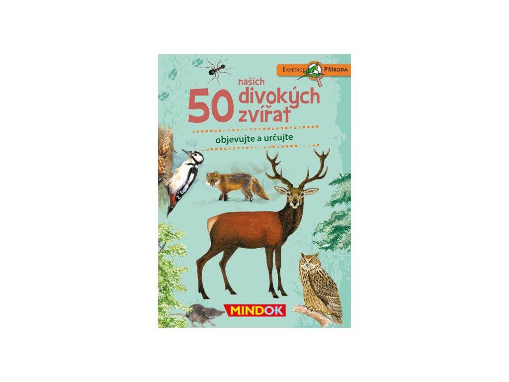 expedice priroda 50 lesnich zvirat